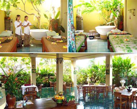Home Spa Decorating Ideas open air treatment room at balinese spa sekar jagat
