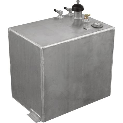 boat gas tank full of water rds aluminum auxiliary fuel tank 20 gallon rectangular