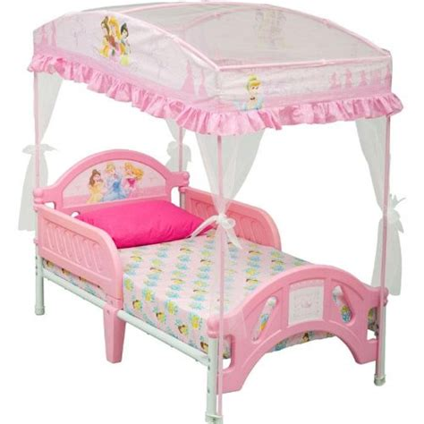 princess toddler bed with canopy canopy beds for girls delta disney princess toddler bed