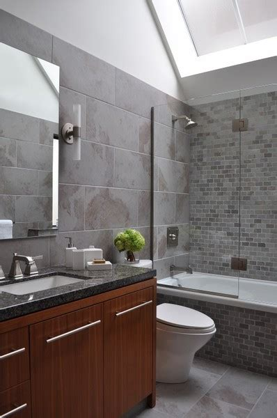 gray tile in bathroom grey tile bathroom ideas native home garden design