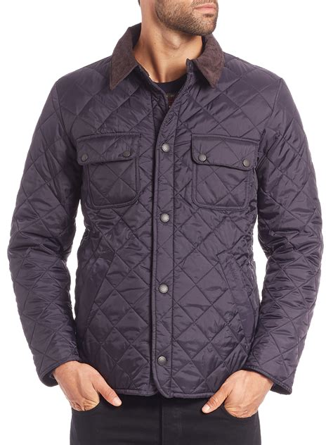Barbour Quilted Coats by Barbour Tinford Quilted Jacket In Blue For Lyst