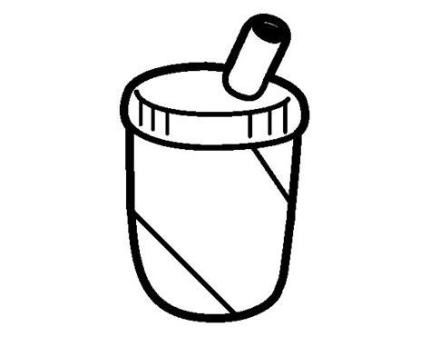 dibujos de bebidas para colorear dibujo de envase de batido para colorear dibujos net