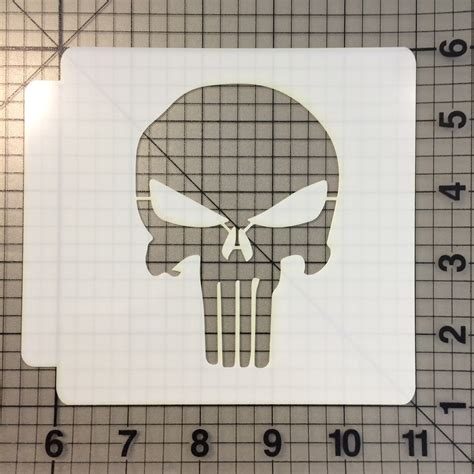 punisher template the gallery for gt punisher skull stencils for airbrushing