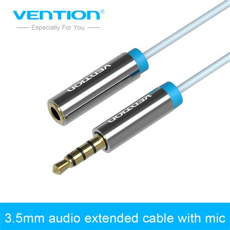 Vido Recable With Mic 1 vention 3 5 mm to audio stereo aux