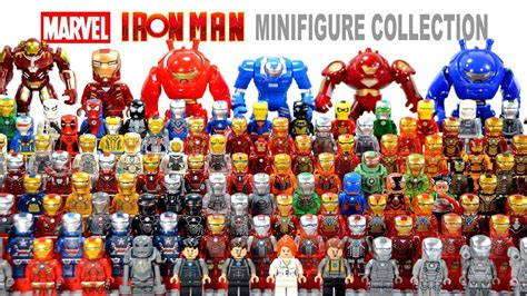 ultimate lego iron man house party protocol suit