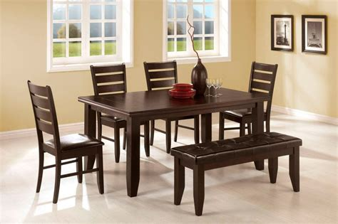 Coaster Dining Room Set by Mesas De Comedor De Madera Im 225 Genes Y Fotos