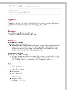 simple resume builder