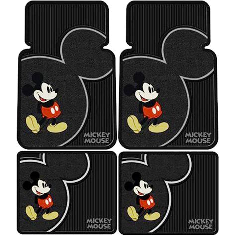 Mickey Mouse Car Floor Mats by Mickey Mouse Car Seat Covers Floor Mats Accessories Set Ebay