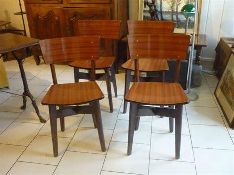 chaises a vendre chaises vintage en bois et formica design scandinave 224 vendre le de jadis