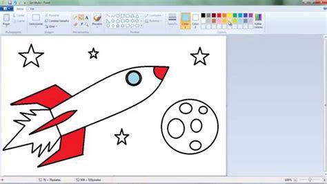 imagenes para dibujar en paint dibujos para ni 241 os c 243 mo aprender a dibujar un cohete