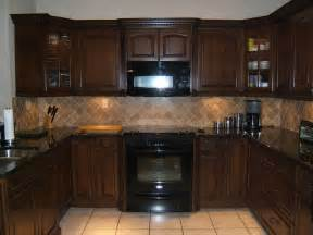 Kitchen Backsplash With Dark Cabinets Nevada Trimpak Installs Brick Flooring Patterns Backsplash