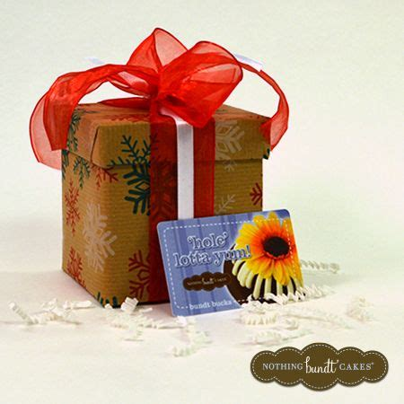 Nothing Bundt Cakes Gift Card - 1000 images about twelve days of gifting on pinterest seasons special gifts and