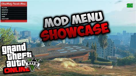 mod gta 5 pc menu gta 5 online 1 37 mod menu showcase ghostmodz private