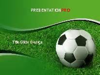 soccer grass powerpoint template background in sports and