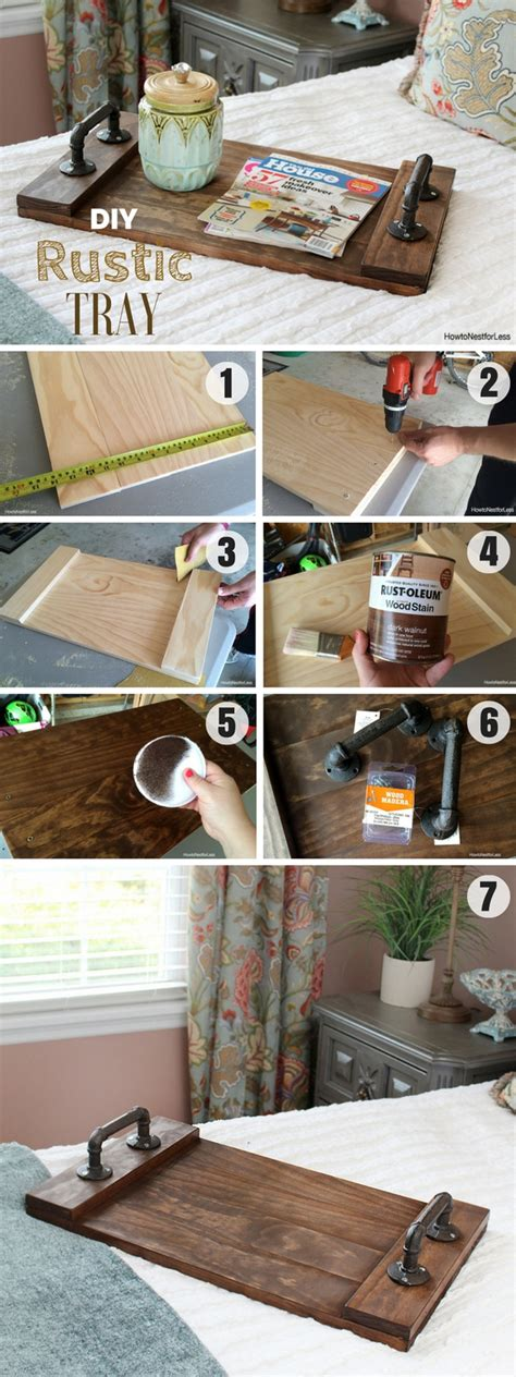 rustic craft projects 18 amazing easy diy wood craft project ideas for home decor