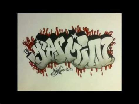imagenes que digan jazmin graffiti quot jasmin quot youtube