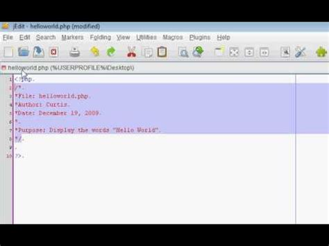 tutorial php programming learning the basic s of php programming tutorial 1 youtube