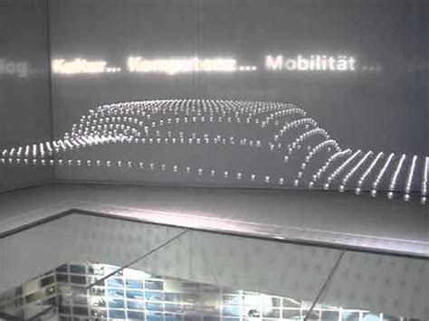 bmw museum kinetic sculpture kinetic sculpture of car at bmw museum youtube