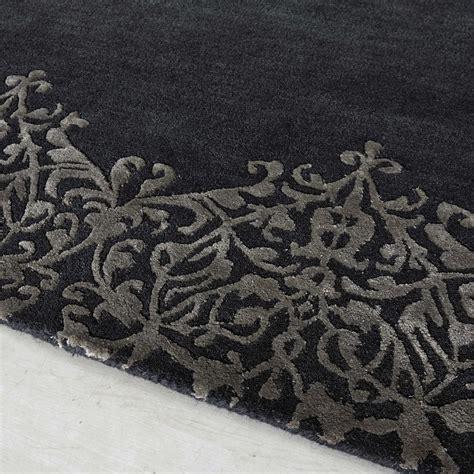 tappeto grigio tappeto grigio in a pelo corto 160 x 230 cm arabesque
