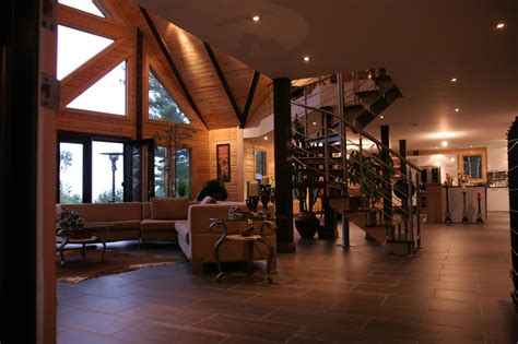 homes interiors a modern day log home absolutely timber block