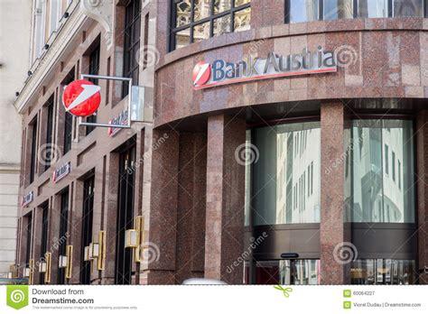 bank austria t bank austria editorial photography image 60064227