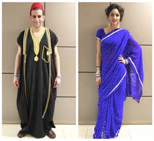 Modern egyptian inspired clothing karim in egyptian and satinder