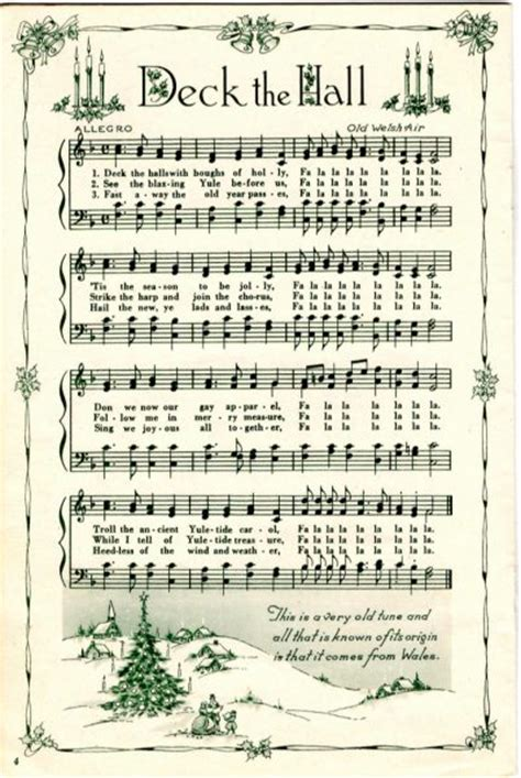 free printable vintage christmas sheet music remodelaholic 25 free printable vintage christmas sheet