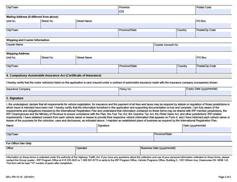 Nyit Mba Registration Form by Plan D Immatriculation International Manuel Du Transporteur