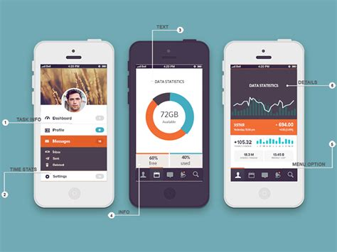 design app screenshots app display fusion mockup by graphicsoulz dribbble