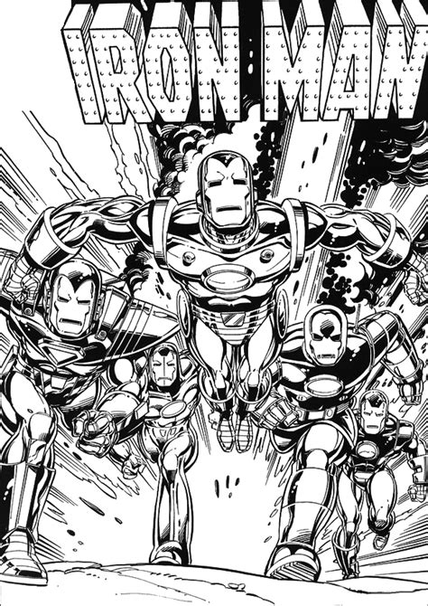 iron man comic coloring pages iron man coloring pages free printable coloring pages
