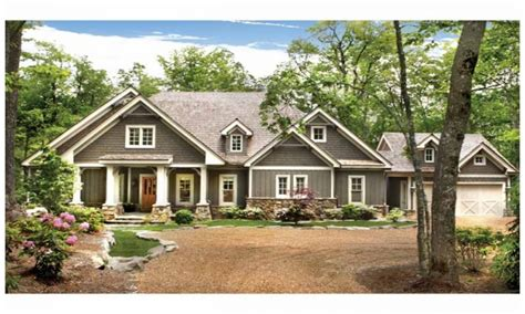 Craftsman Ranch Craftsman Style Cottage House Plans Cottage Craftsman