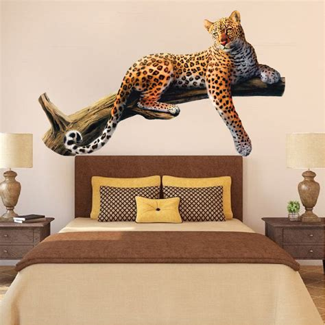 animal wall mural leopard wall mural decal animal wall decal murals primedecals