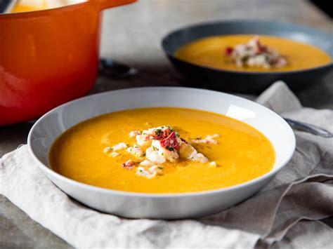 lobster bisque recipe rich and lobster bisque recipe serious eats