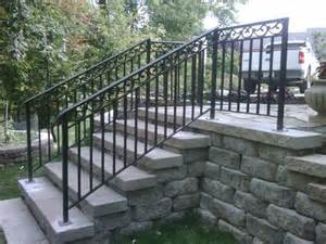 Banister Iron Works Best 25 Outdoor Stair Railing Ideas On Pinterest Deck