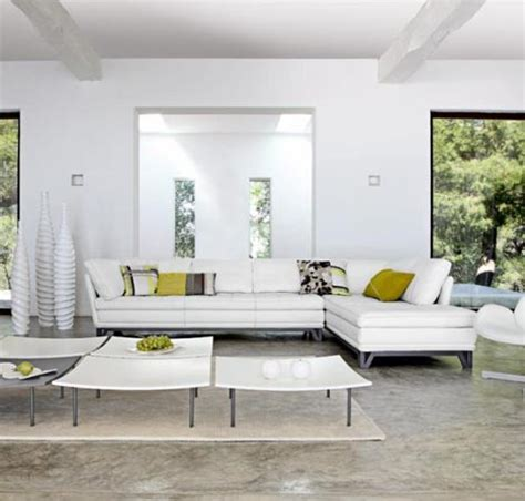 White Livingroom Furniture by Colorful Furniture Sets For Creative Living Room Interiors