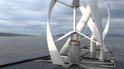 boat wind turbine sun and wind power energy used to drive some smaller