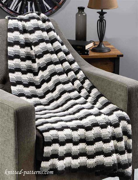 how to zig zag crochet afghan pattern crochet zig zag afghan pattern free