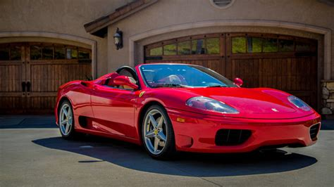 Ferrari 360 Spider Manual by Ferrari 360 Spider 6 Speed Manual Classic Red Tan