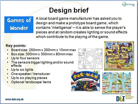 food design brief year 12 systems and control mid ks3 y8 design and make smart