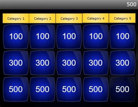Mastering The Storyline Jeopardy Game Template Elearning Quiz Show Template