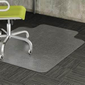 lorell 82821 low pile carpet chairmats 60 quot length x 46
