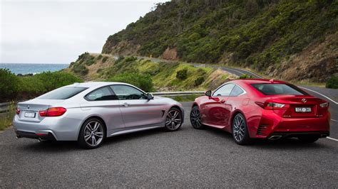Lexus Rc350 F Sport V Bmw 435i Coupe Comparison Review