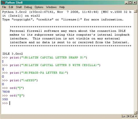 Character Letter Python Issue 4281 Idle Incorrectly Displaying A Character Capital Letter Sharp S Python