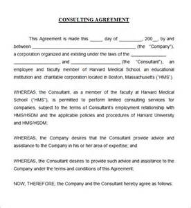 consulting contracts templates consulting agreement 7 free pdf doc
