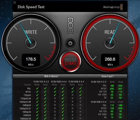 disk speed test blackmagic disk speed test macbook pro ssd
