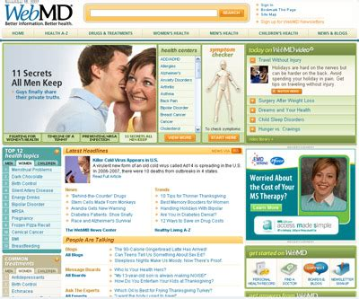 Diagnose Yourself Website | Orangeinks Webmd Website Physician Directory