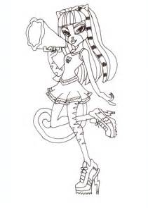 free printable monster coloring pages february 2013