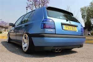 Vw Golf Mk3 Interior Volkswagen Golf Mk3 Blue Scandal Con Toques Muy Euro