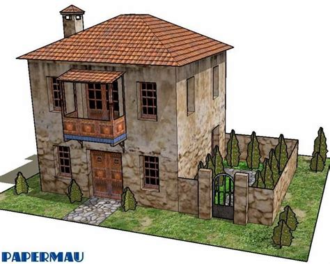 roman house papermau two storey roman house paper model by papermau next project