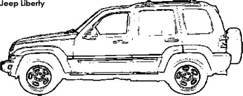 jeep liberty coloring pages compare jeep liberty vs subaru forester
